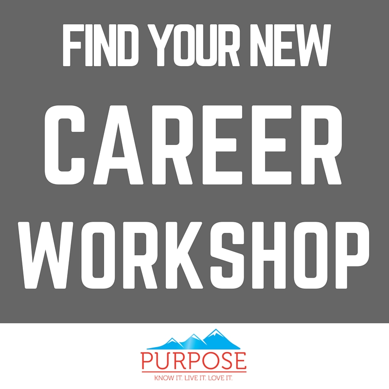 Purpose Career Workshop Event